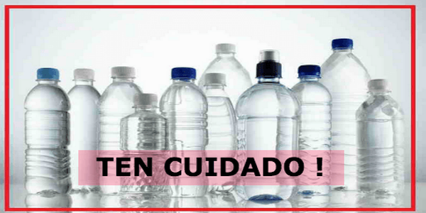 botellas de plásticos