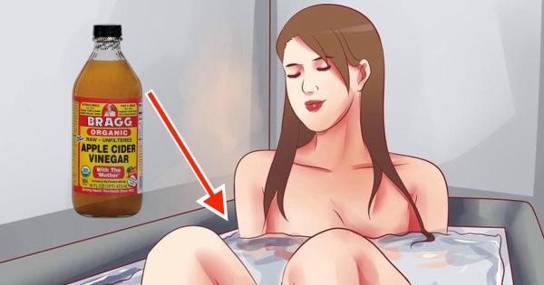 baño con vinagre