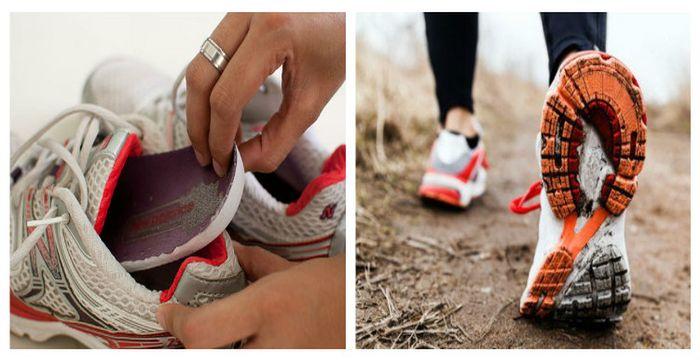 bacteria en zapatos